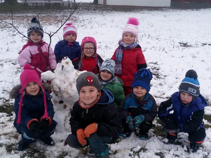 Zima ve školce